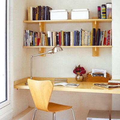 Chọn nội thất vừa đẹp vừa tiết kiệm cho phòng làm việc tại nhà
