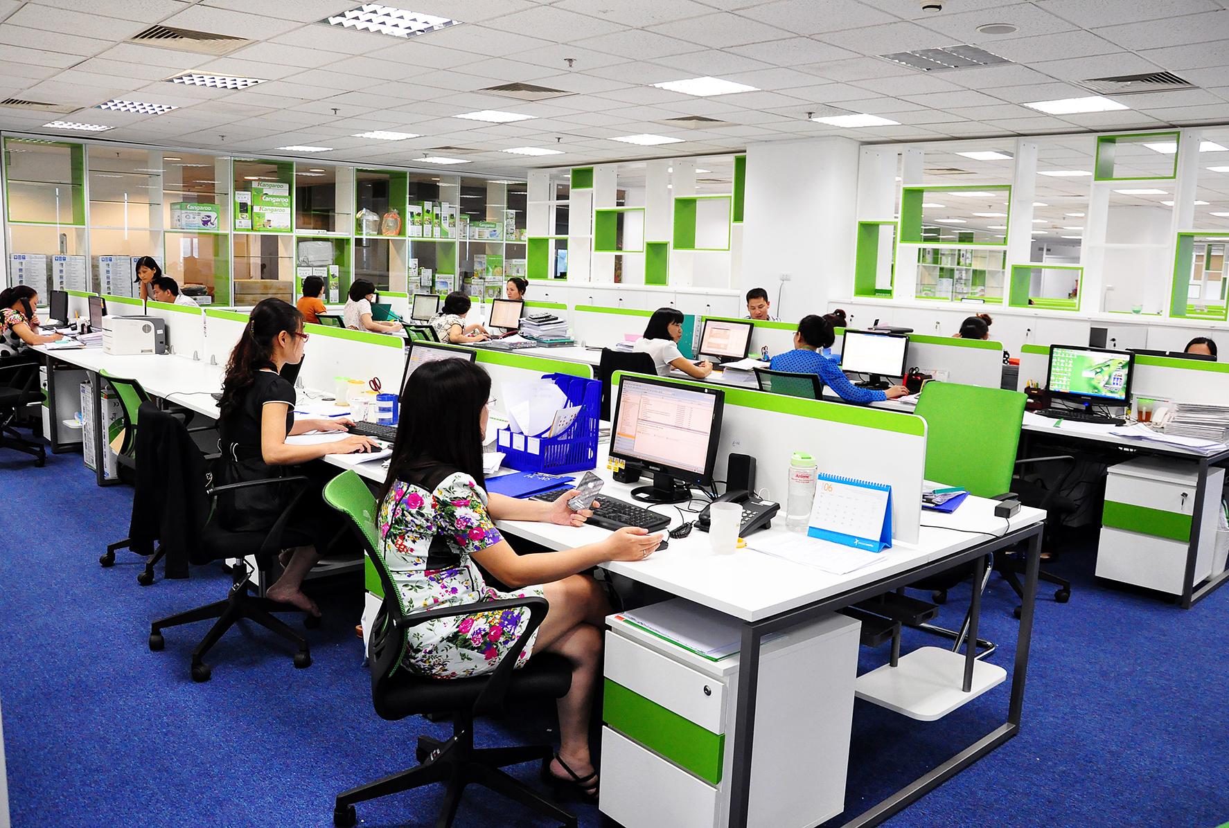 4 lưu ý để thiết kế văn phòng làm việc hiệu quả nhất