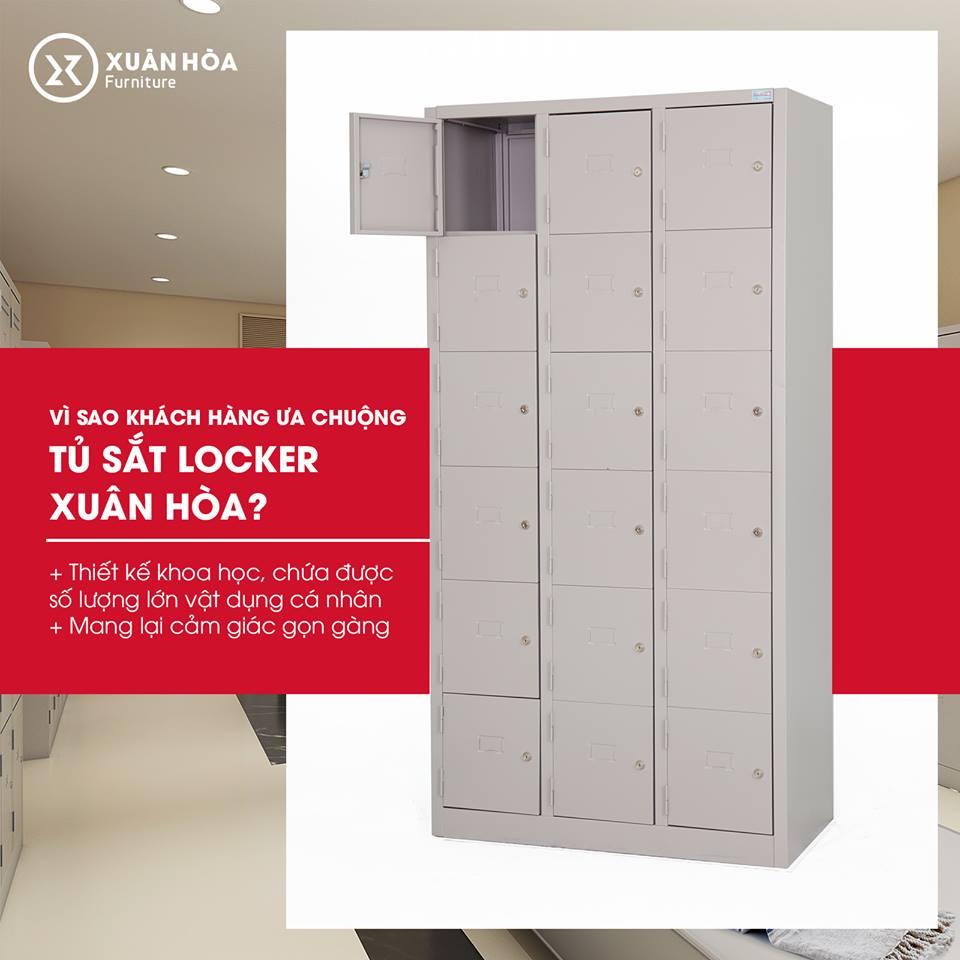 Tủ locker LK 18N 03