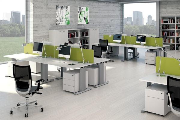Văn phòng hài hòa sử dụng nội thất Fami