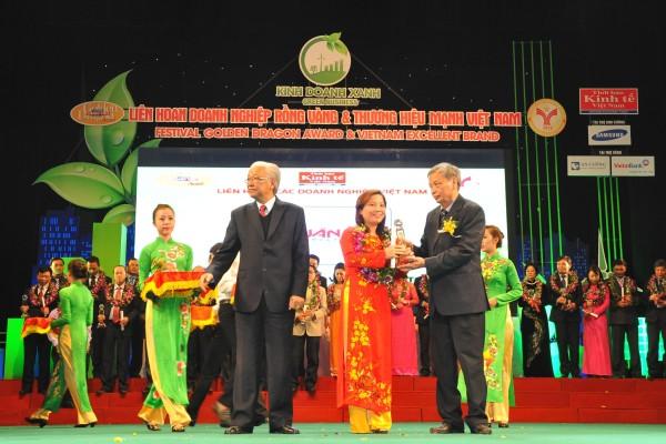 Lễ vinh danh thương hiệu mạnh Việt Nam