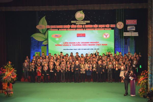 Liên hoan văn nghệ vinh danh thương hiệu mạnh Việt Nam
