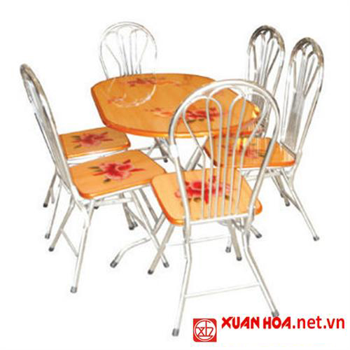 Tổng quan bàn ghế ăn Xuân Hòa cho phòng ăn hiện đại